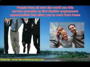 youtu.be/_PFIRiTsi58 | Legitimate Work at Home Jobs - Over 2,000 Legit Online Jobs and Telecommute Jobs | Visit www.SecureHomeJob... to find legitimate work at home jobs. Instantly access over 2,000 Legitimate Online Jobs and Telecommute Jobs. The most complete database of safe, trusted work at home job opportunities on the internet. Full and part-time.