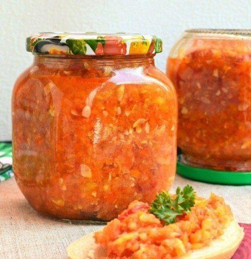 Кулинарный блог!Лучшие рецепты.: Кабачковая аджика на зиму.