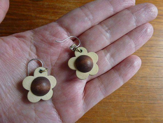 vintage 1970s Aarikka Finland earrings