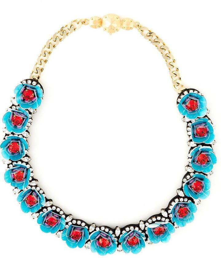 Shourouk 'Daisy' necklace