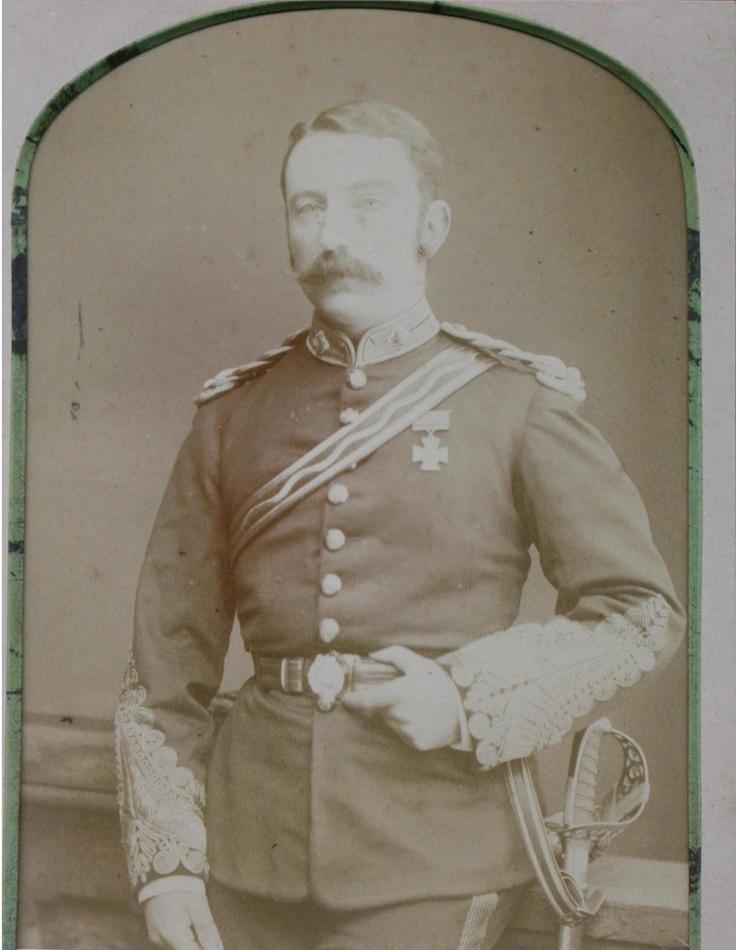 CHARD, John Rouse Merriott,  Lieutenant,  Royal Engineers.  1879;  Rorke's Drift, South Africa