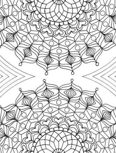 How fun! Zen doodle coloring pages by Tiffany Lovering | ClothPaperScissors.com #doodles #drawing #coloring