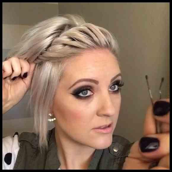 Haarband Frisur Kurze Haare Fur Kurzhaarfrisuren Damen Frisuren