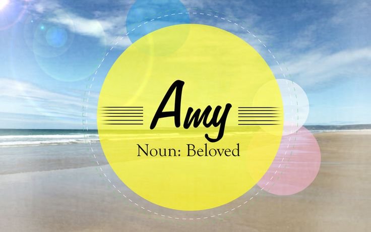 Drawings of the Name Amy | Amy name meaning by mindlesswander