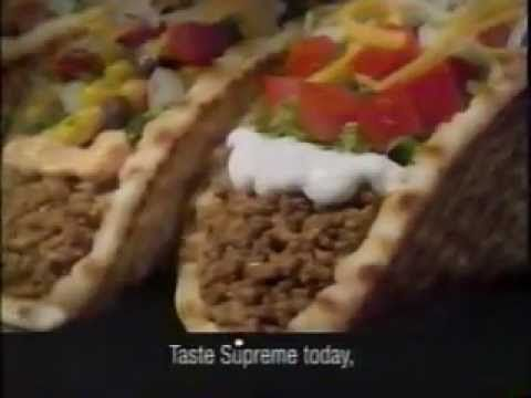 Taco Bell Gorditas Commercial (1998)