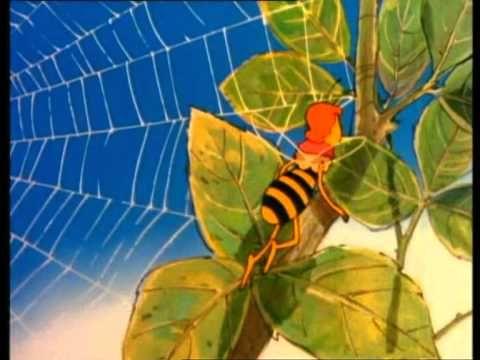 Maja de Bij - Maya leert vliegen - Deel 2