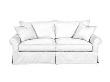 Traditional In Style, The Walden Sofa Provides Ample Comfort With Its Large  Envelope Pillows And Skirted ...
