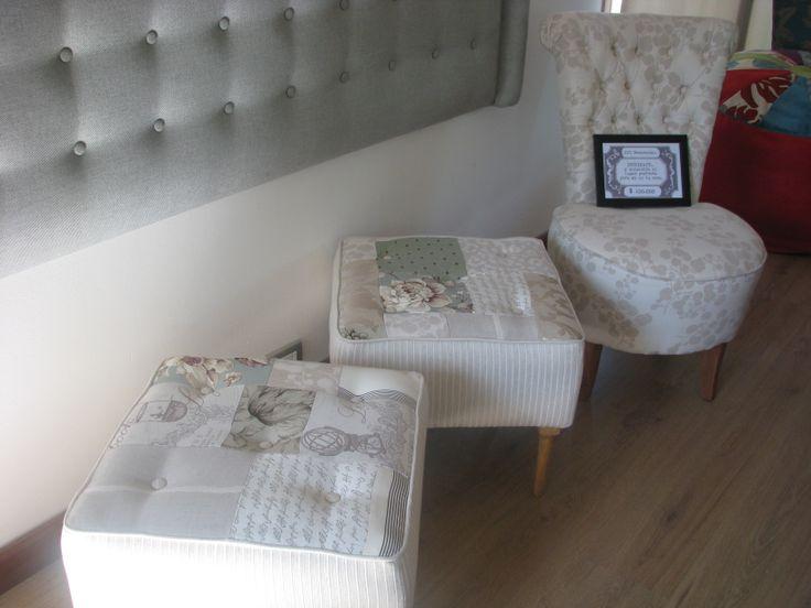 contamos con muebles hermosos que apoyan la diversas ambientaciones: sitiales, banqueta, pouf, sillones
