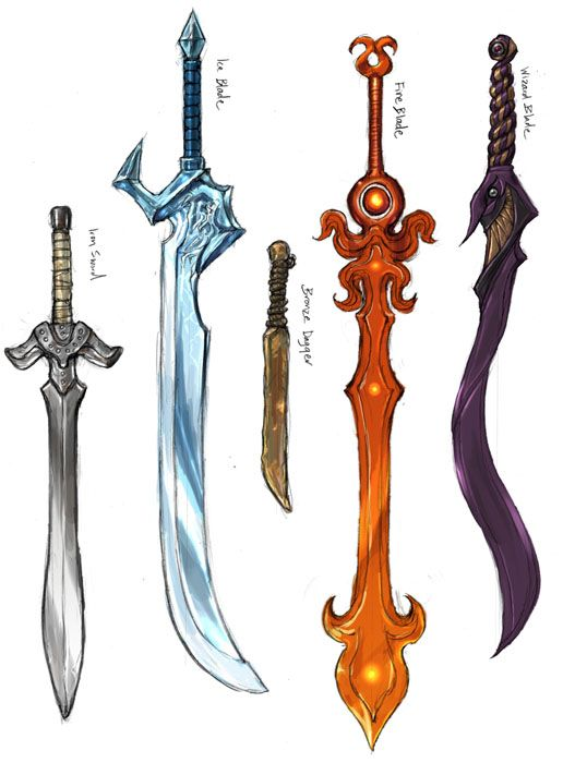 cool sword designs swords daggers and other cool