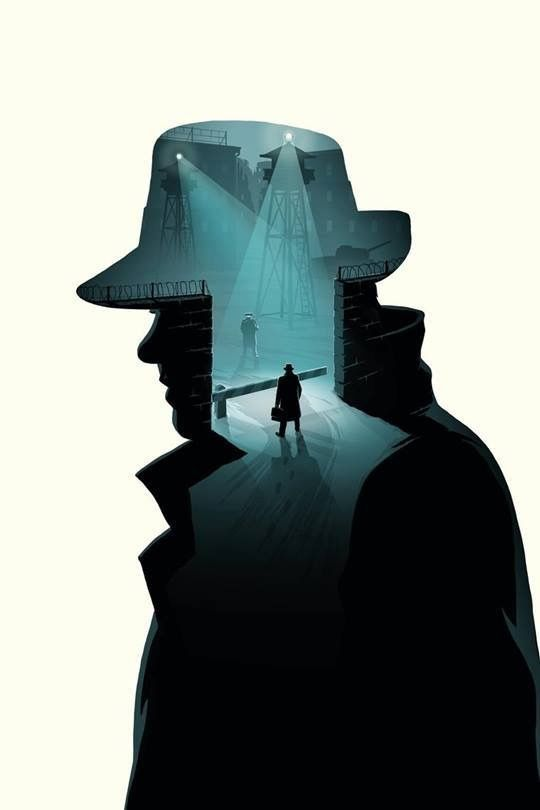 Bridge of Spies (2015) ~ Minimal Movie Poster (artist unknown) #amusementphile