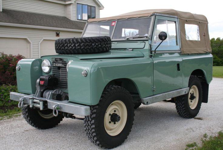 60-Land-Rover-SII-88 ... w/ Mercedes Benz OM616 diesel.