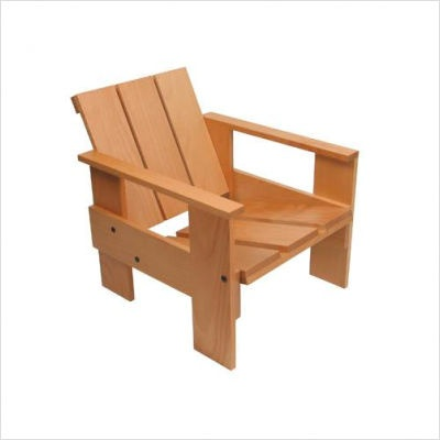 Crate Chair by Gerrit Rietveld for Wilhelmina Collection