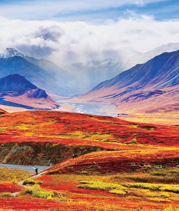 デナリ国立公園(アラスカ州) Denali National Park and Preserve, Alaska