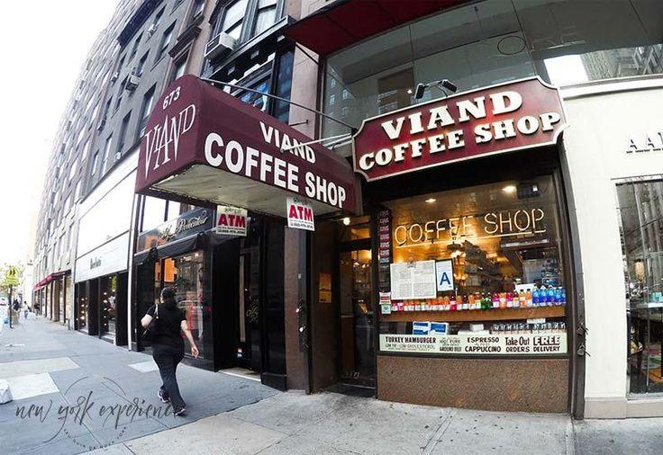 Viand Coffee shop na Madison Avenue, em NYC.
