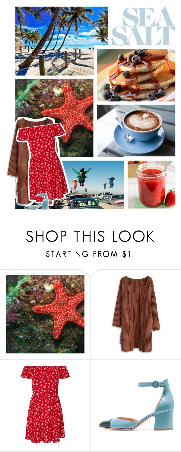 """""""starfish and coffee, maple syrup and jam."""" by nerdyginger66 ❤ liked on Polyvore featuring Chicwish and Miss Selfridge"""