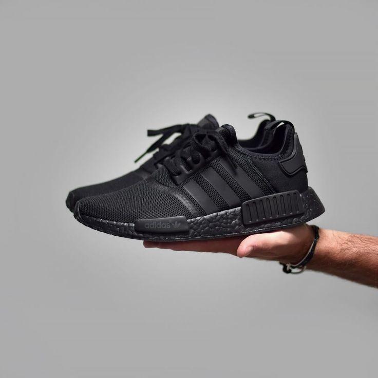 adidas nmdr1 triple black . lancement 17.09 sur snkrs