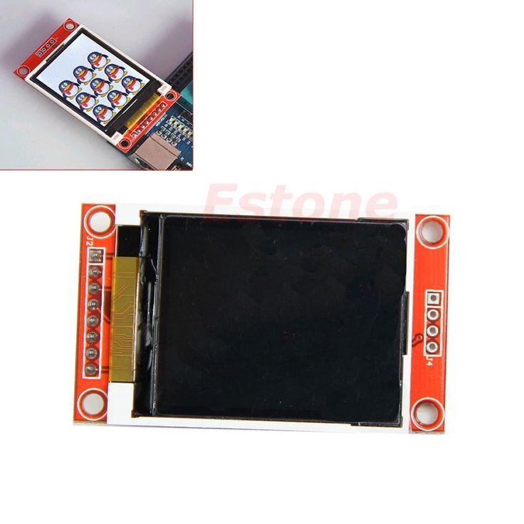 """1.8 """"シリアル128 × 160 spi tft液晶モジュール表示+ pcbアダプタ電源ic sdソケット"""
