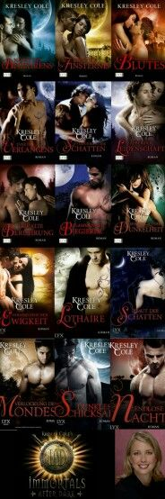 Kresley Cole - Immortals After Dark   I' m in love
