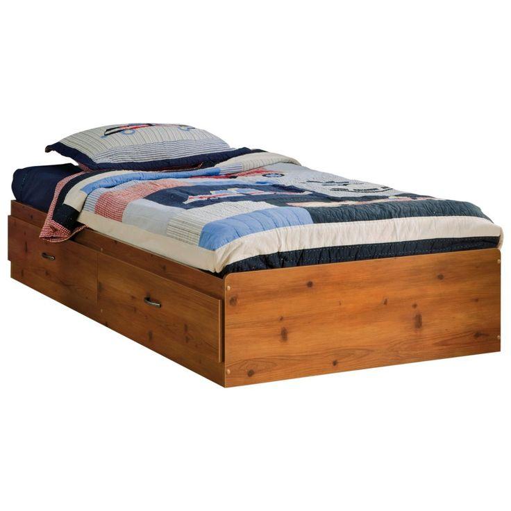 South Shore Logik Mates Twin Platform Bed Collection - Kids Storage Beds at Hayneedle