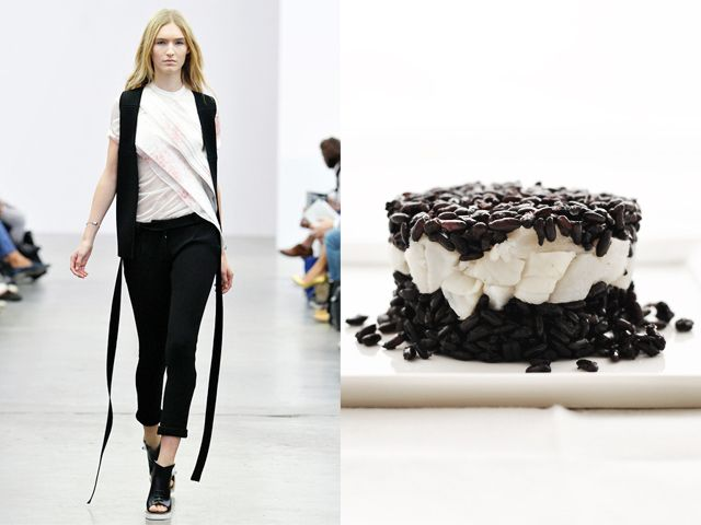 Iceberg ss 2014 / Black rice with scallops and brandy