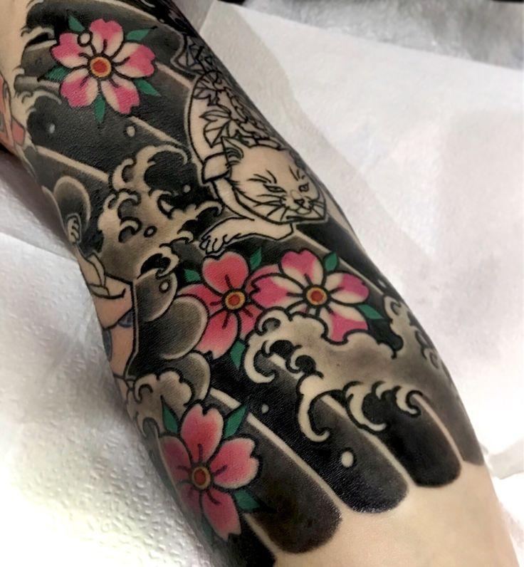 #어려워😢 -progress... Tattoo machines by @cstattoomachine 타투상담&문의: 카톡:qpqpgi / 010.9078.7474 #japanese#cattattoo#타투이스트크리스탈#이바사타투