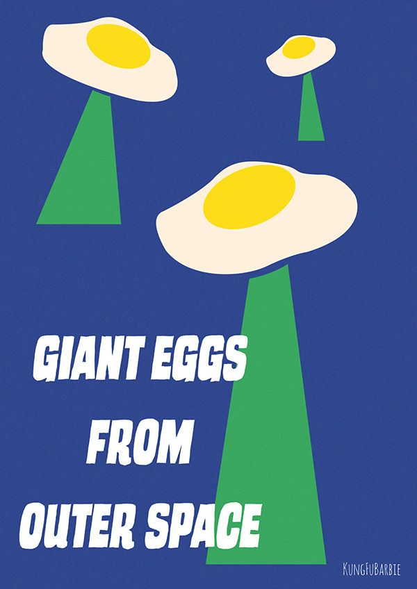 GIANT EGGS FROM OUTER SPACE on Behance