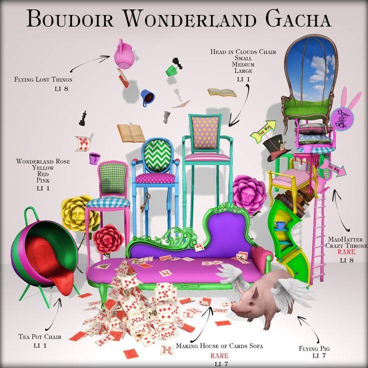 https://flic.kr/p/EYhDbe   ♠️ ♥️ Boudoir Wonderland Gacha ♦️ ♣️