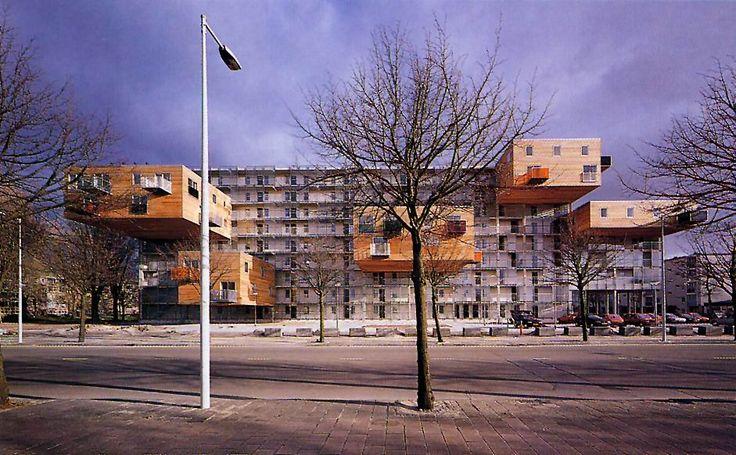 Desafío de los apartamentos Wozoco en Amsterdam