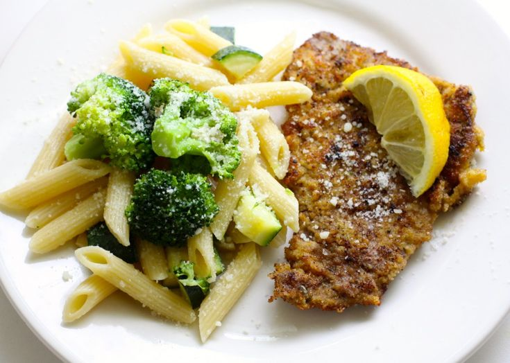 Beef Cutlets Penne and Broccoli | Love of Home