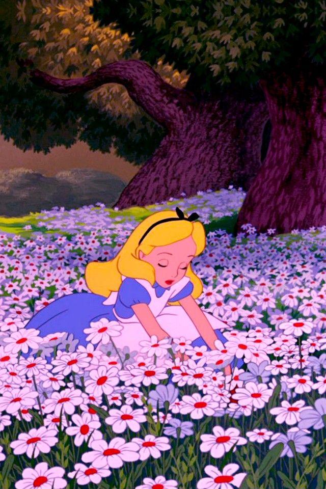 картинки на аву алиса в стране чудес фото только цветочки