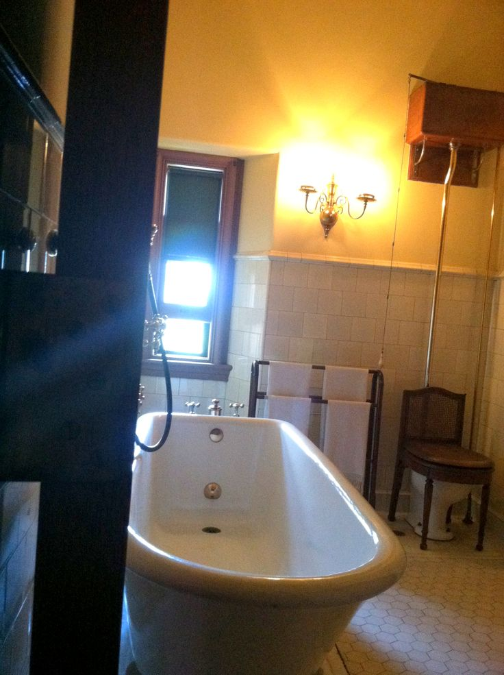 Biltmore House- 3rd floor- Living Hall Bathroom outside of ...