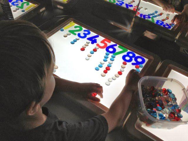 Las mesas de luz, una herramienta educativa y aconsejable para tus hijos. Te…