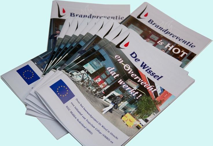 dubbel magazine brandpreventie - grafisch ontwerp & dtp - digitaal printen - studio Care Graphics, Utrecht