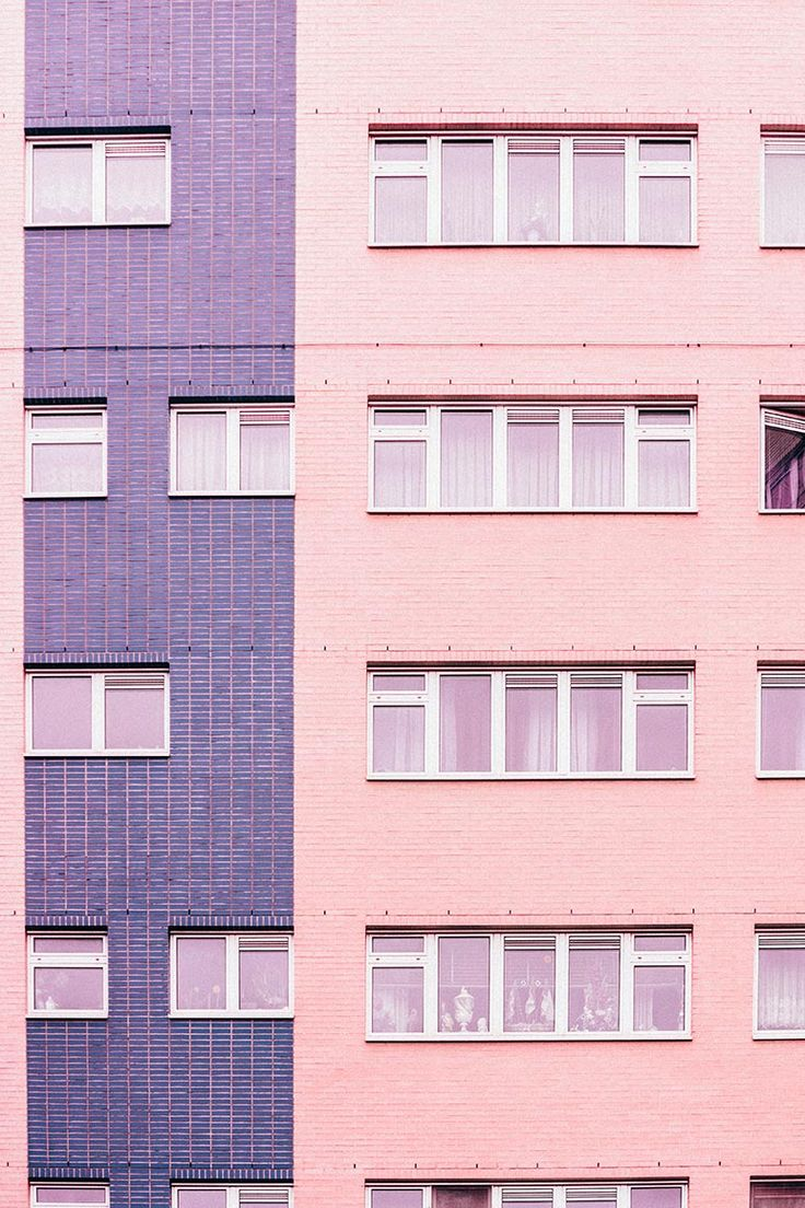 Pink and purple | Facade