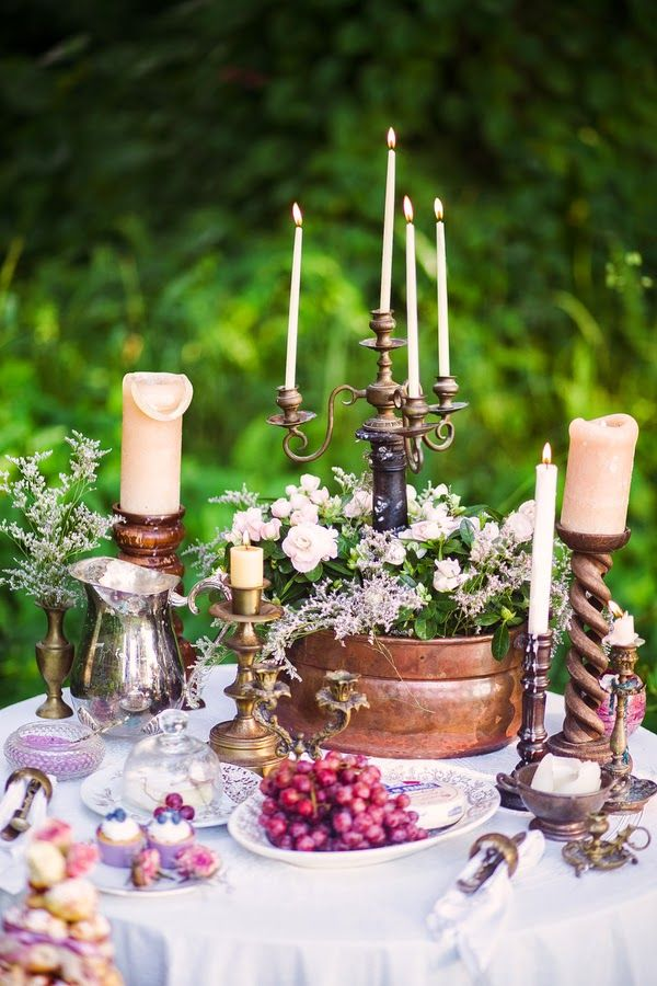 767 best Garden Party images on Pinterest Table decorations