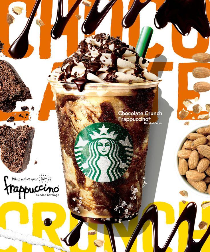 スターバックス「チョコレート クランチ フラペチーノ®」中身は二枚目オトナの男   COCOLO CHRONICLE