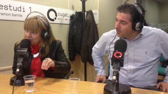 Olivia Cabezas i Ferran Doñate