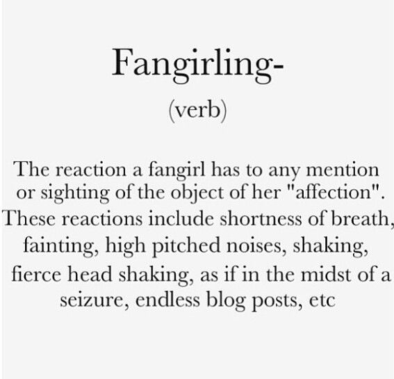 """So I may be almost 30, have a husband, 2 kids and a minivan but really I'm a teenybopper at heart. As are 90% of my friends. I have just discovered I am a total """"fangirl""""."""