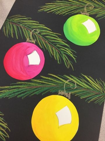 This is one of my favorite projects found on Pinterest that I repeat each year in third grade! It's perfect for teaching shape, texture ble...