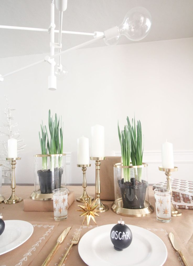 Image Result For Christmas Table Decoration