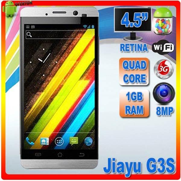 Jiayu G3S  La esperada evolución del G3