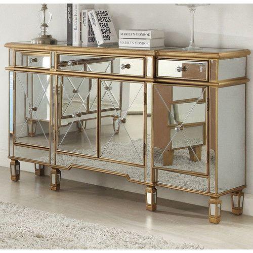 Mirror Buffet, Dresser