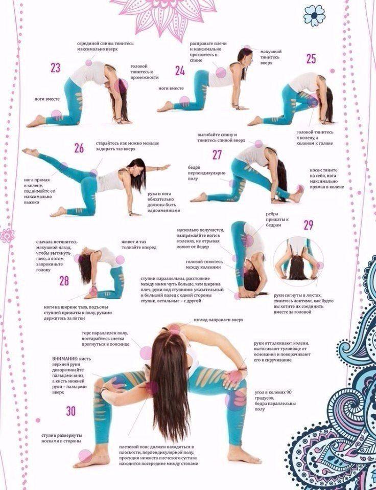 Комплекс упражнений на каждый день с картинками