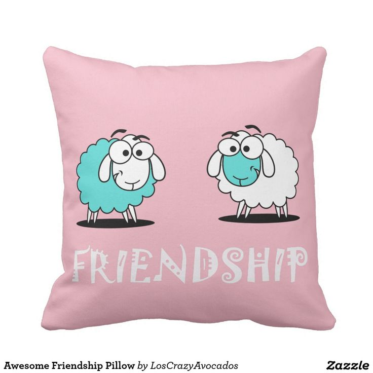 Awesome Friendship Pillow