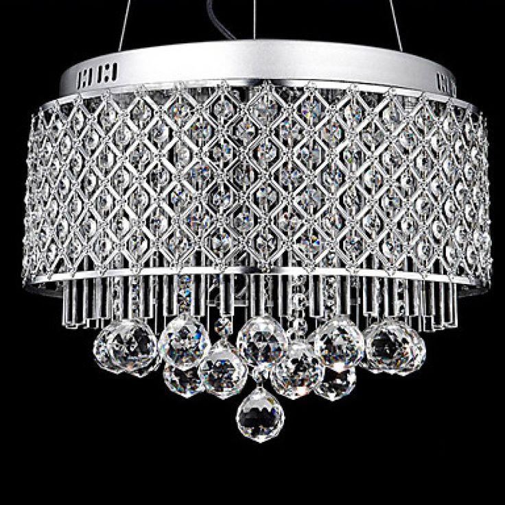 9 Desain Lampu Kristal Gantung Rumah