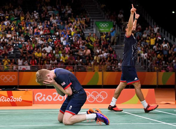GB Badminton Team wins Rio Gold with Yonex Badminton Shoes -  #yonex #badminton