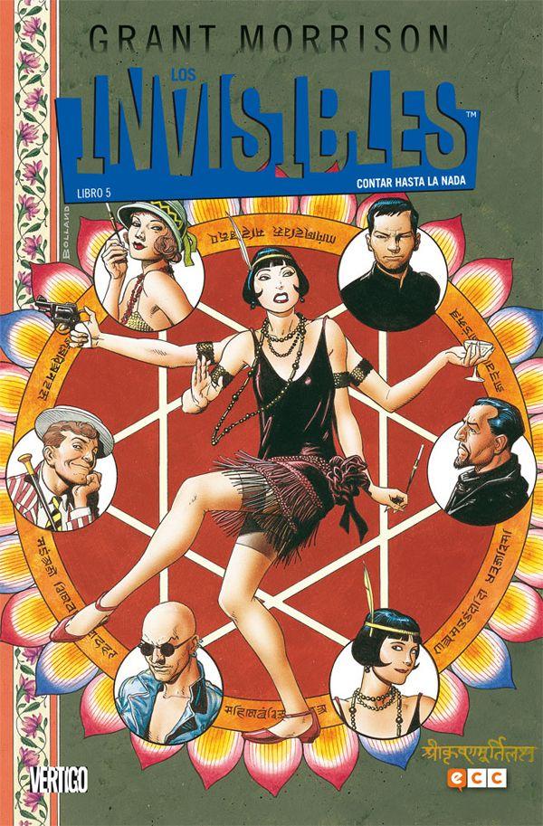 Los Invisibles #5: Contar hasta la Nada continúa la inigualablemente extraña y psicotrópica epopeya de Grant Morrison #ECCEdiciones #Cómics #CienciaFicción