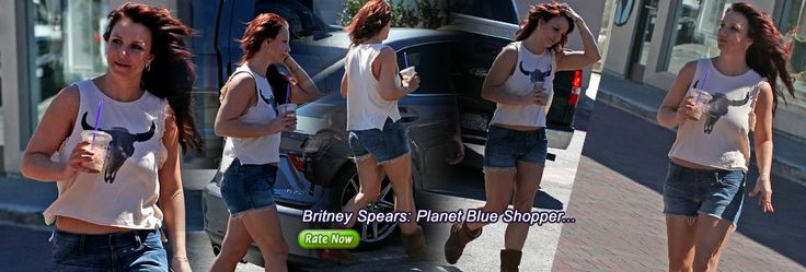 Britney Spears: Planet Blue Shopper