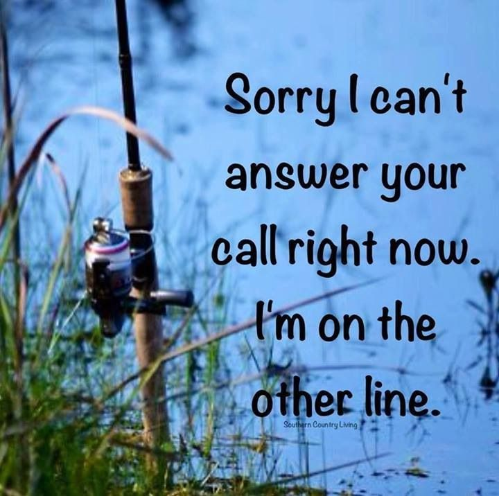 Leave me a message! ` Gone Fishing