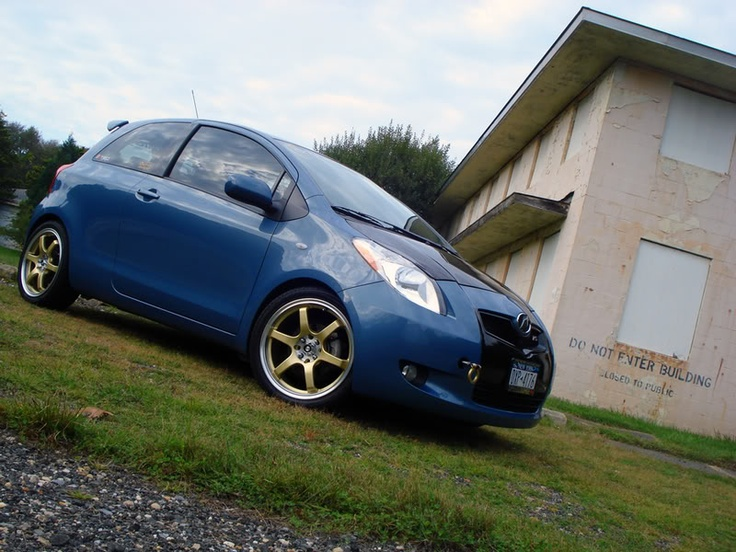 Please post pics of your Yaris with aftermarket rims here - Page 11 - Toyota Yaris Forums - Ultimate Yaris Enthusiast Site
